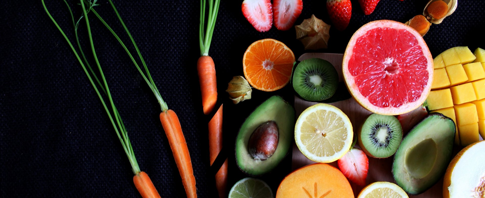 Vegetable and fruit diet