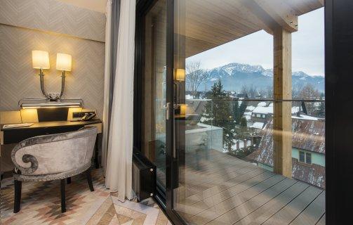 Pokój Premium z widokiem na góry