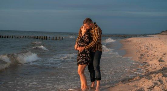 Romantisches Aufenthalt mit Meerblick