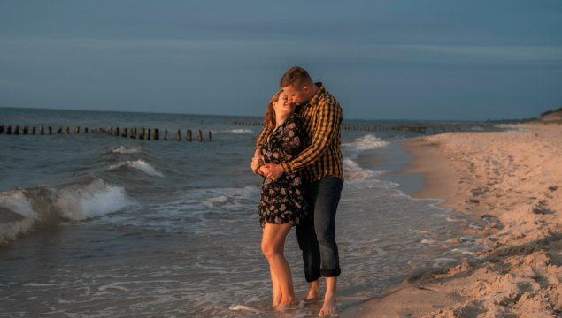 Romantyczny pobyt z widokiem na morze