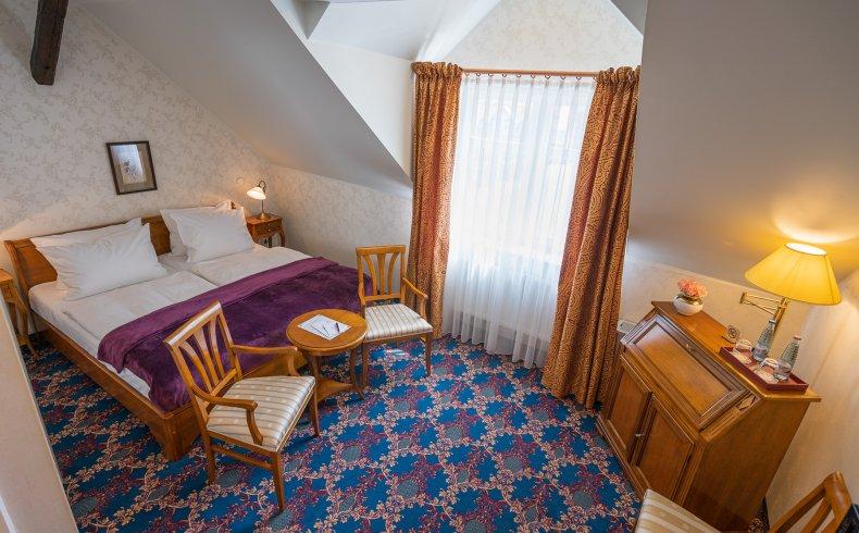 Doppelzimmer mit Schloßblick