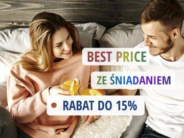 Rabat 15% ze śniadaniem