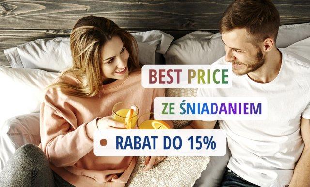 Rabat 5% ze śniadaniem