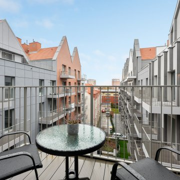 Old Town - 1 Sypialnia, Balkon