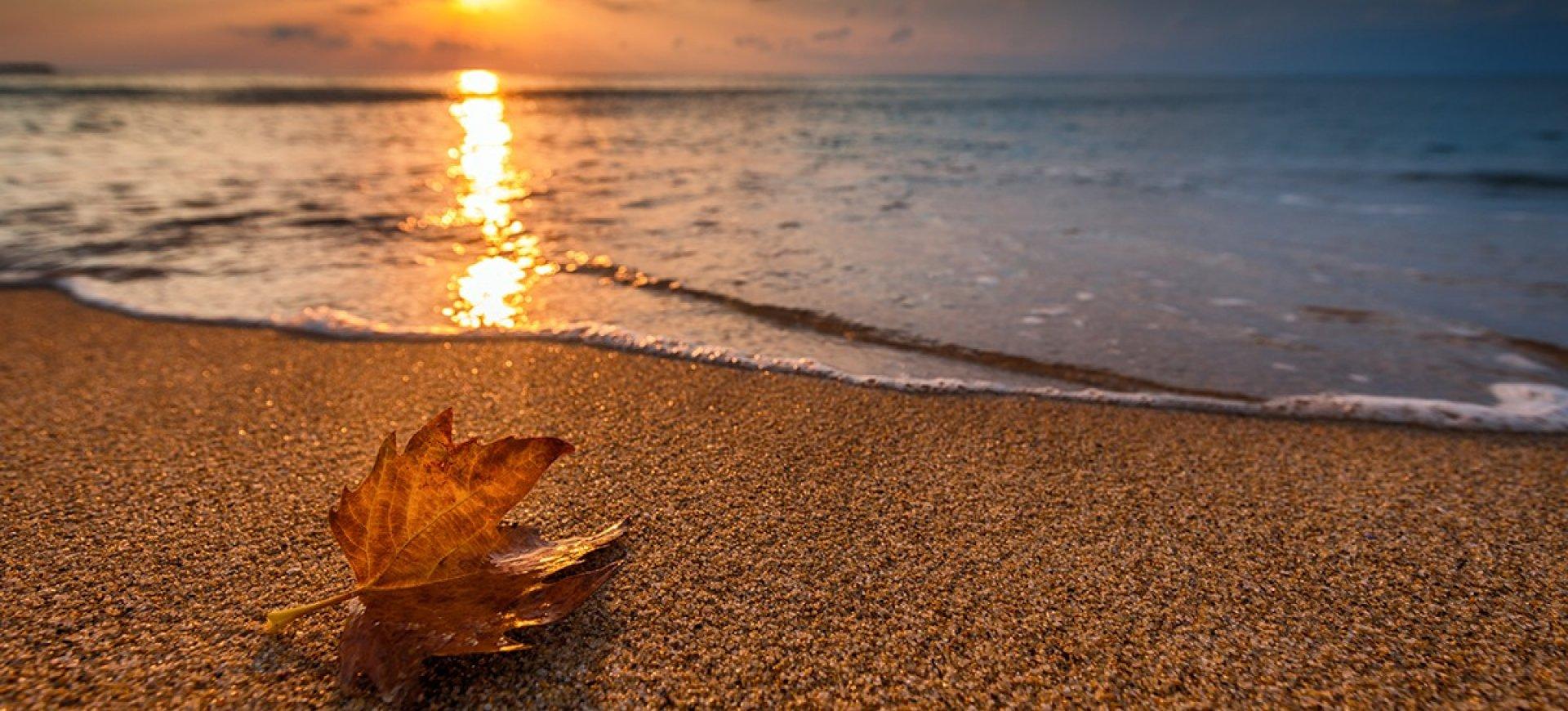 Jesień nad morzem