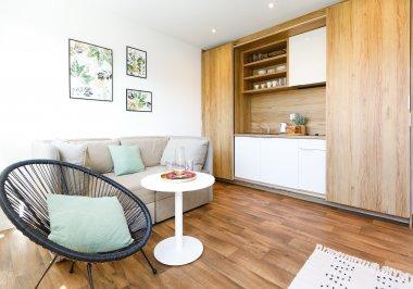 Apartament 3 osobowy Golden Lux z klimatyzacją