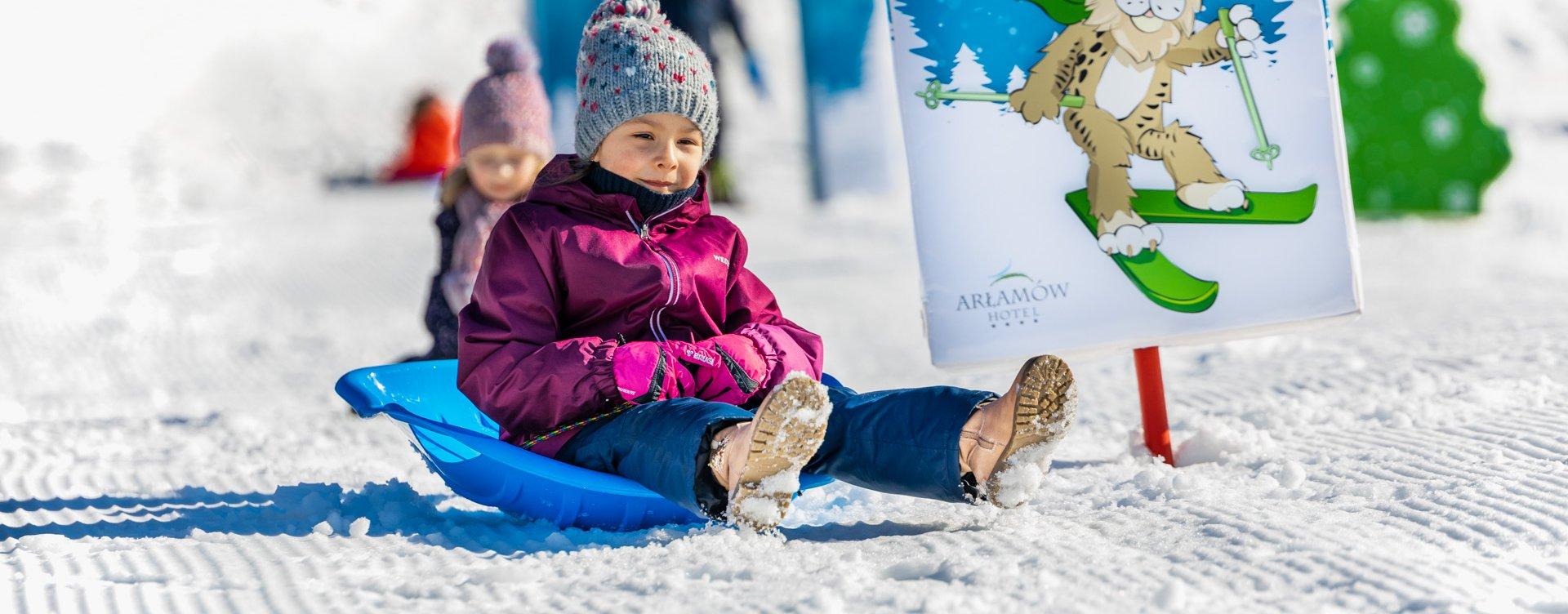 Winter holidays in Arłamów Hotel