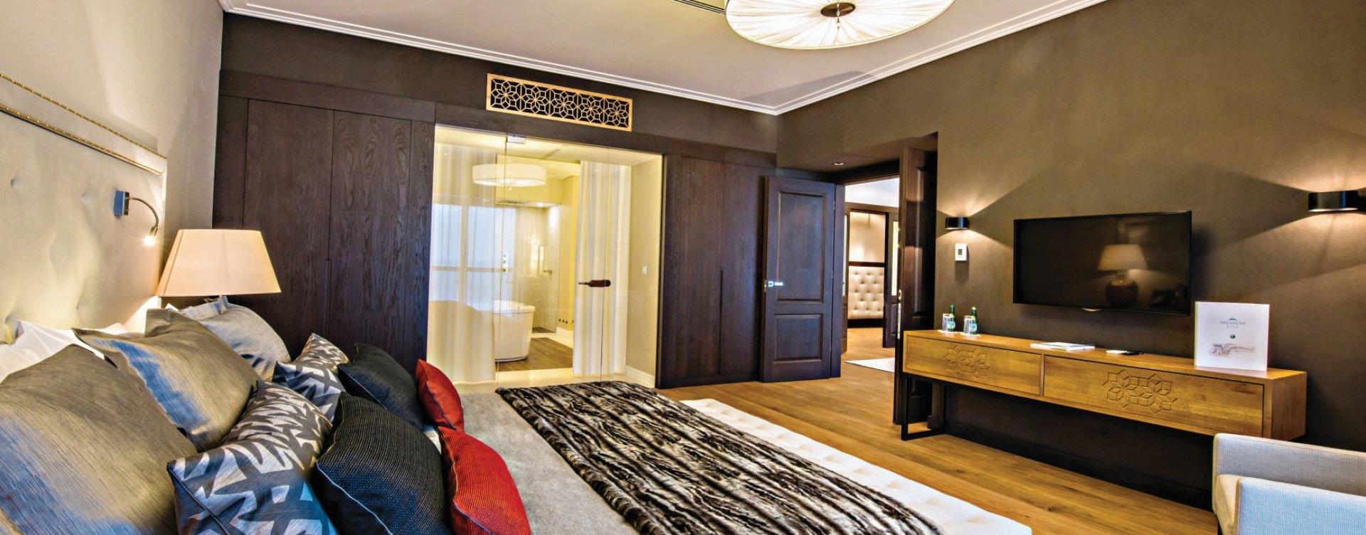 Президентские одноуровневые апартаменты + Пакет VIP Отель