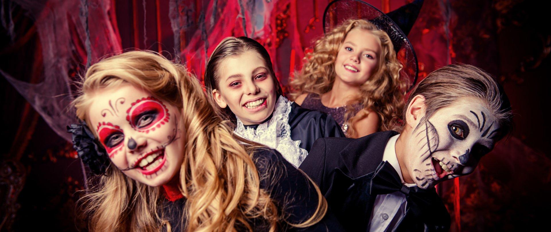 Halloween w Baltin Hotel