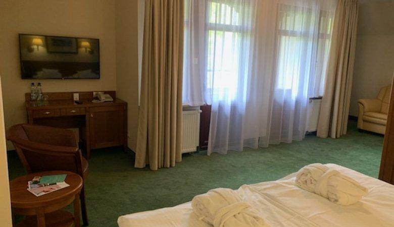Pokój rodzinny w części hotelowej