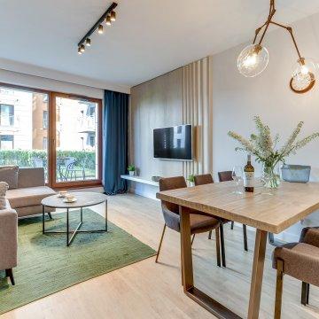Grano Apartments - 2 Sypialnie, Balkon, Twin