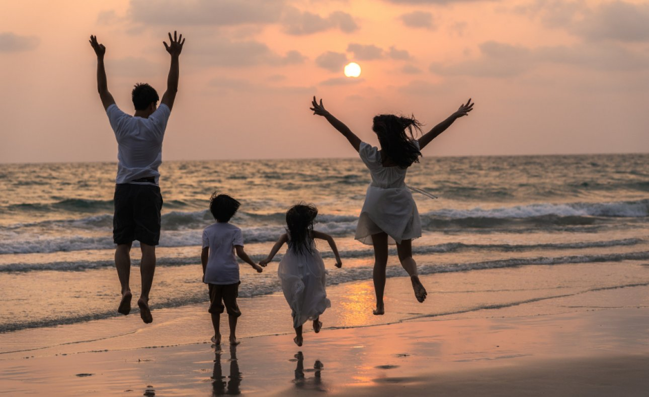 Koszalin: Wiosna z rodziną
