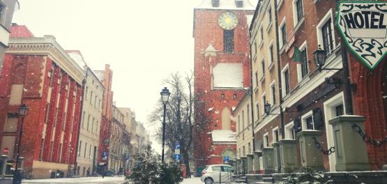 Toruń: Zima w gotyckim mieście 2021