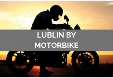 Lublin by motorcycle!