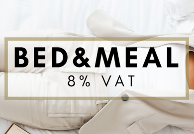 Business Rest - Bed & Meal = 8% VAT