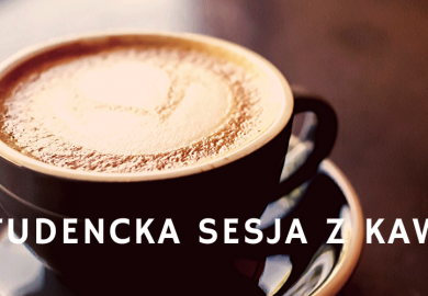 Studencka sesja z kawą
