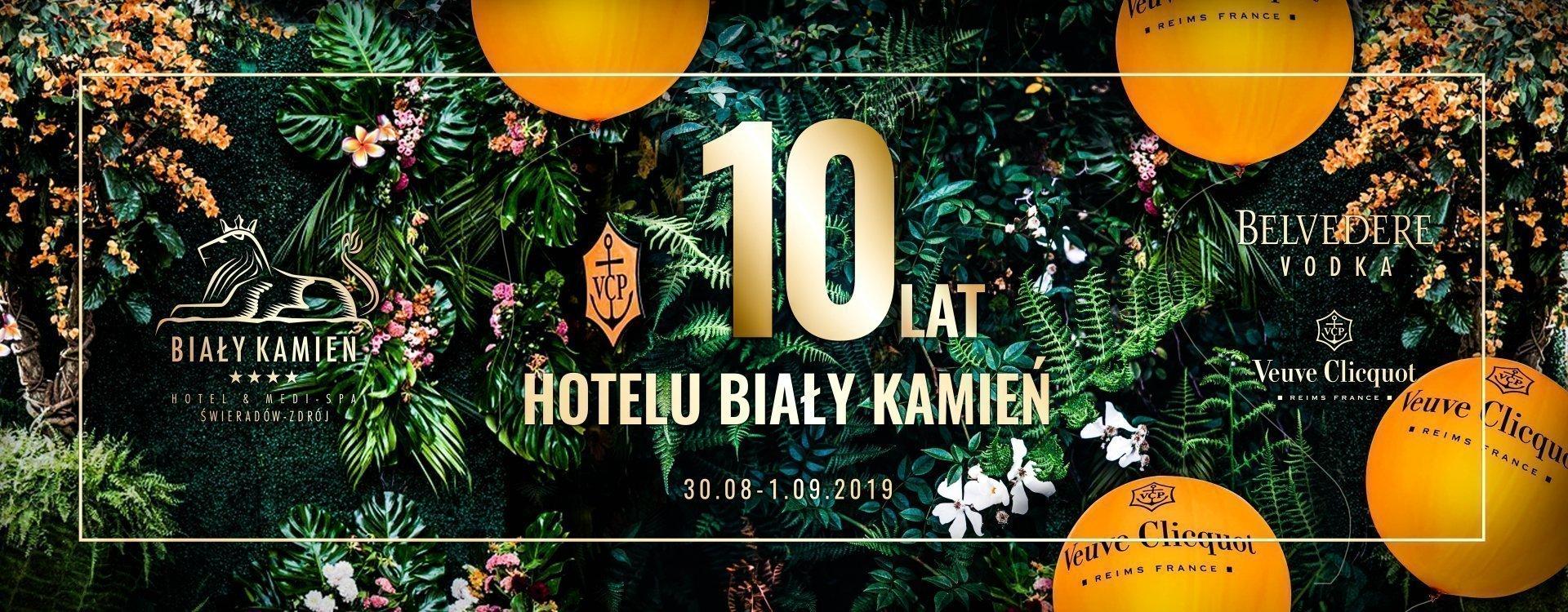 10 LAT HOTELU BIAŁY KAMIEŃ