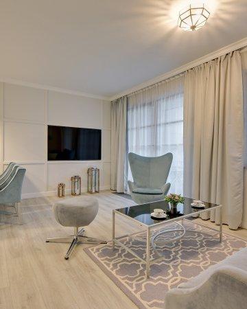 Grano Apartments Nowa Motława - 2 Sypialnie, Balkon, Double