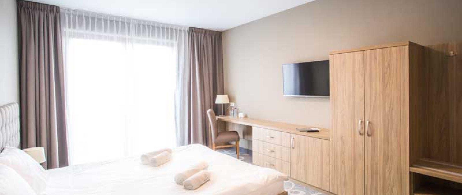 Pokój typu LUX z łożem małżeńskim + taras
