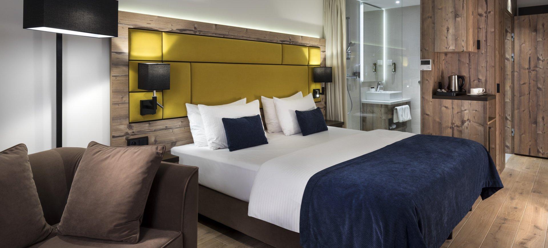 Standard med queen size-säng
