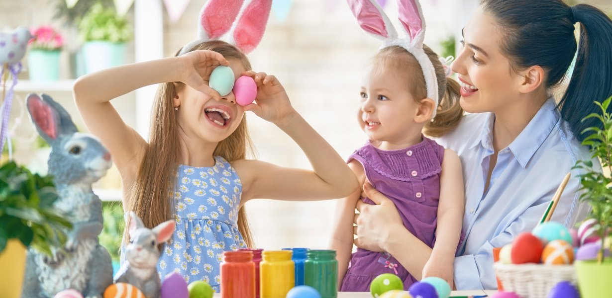 Ostern in Familie