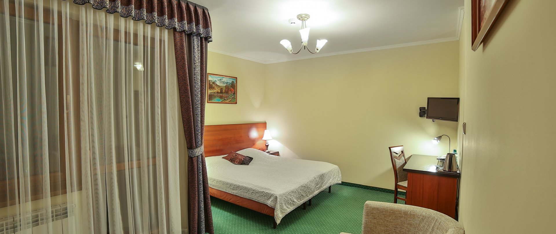 Deluxe double room with Queen Size bed