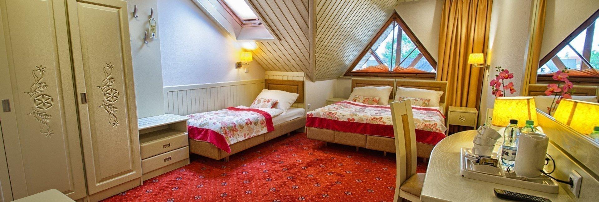 Trojlôžková izba Style