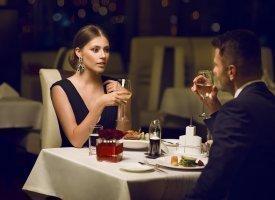 Zaproszenie na romantyczną kolację dla dwojga