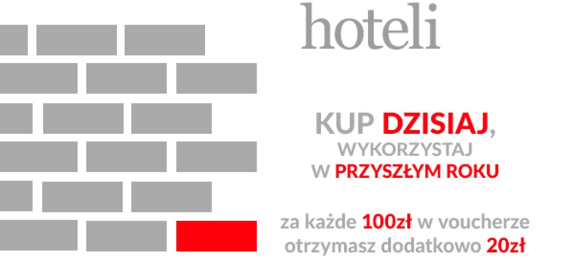 VOUCHER - CEGIEŁKA DLA HOTELI #ratujmynaszemiejscapracy