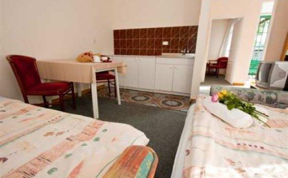 Pokój 4-osobowy w domku szeregowym