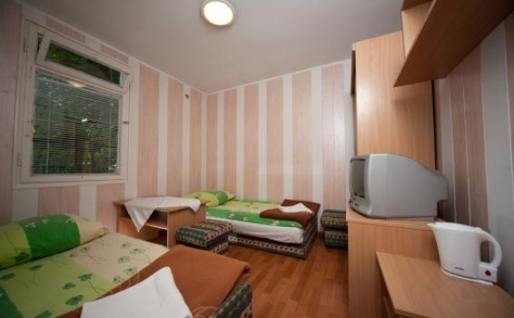 Double room in camping chalet resort 'Pod Bukami'