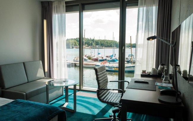 Pokój Dwuosobowy Twin/Double z widokiem na jezioro