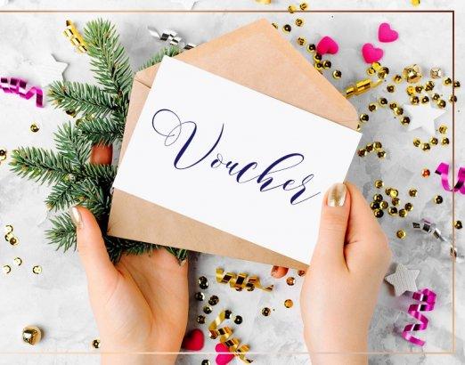 Świąteczny voucher upominkowy