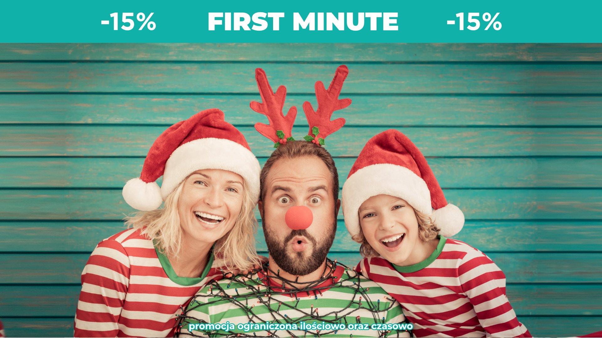 Boże Narodzenie w Kołobrzegu FIRST MINUTE 15%