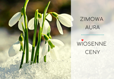 Przedwiośnie - zimowa aura, wiosenne ceny