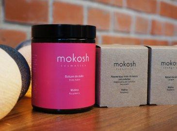 Zestaw prezentowy do twarzy i ciała Mokosh - Malinowa Rozkosz