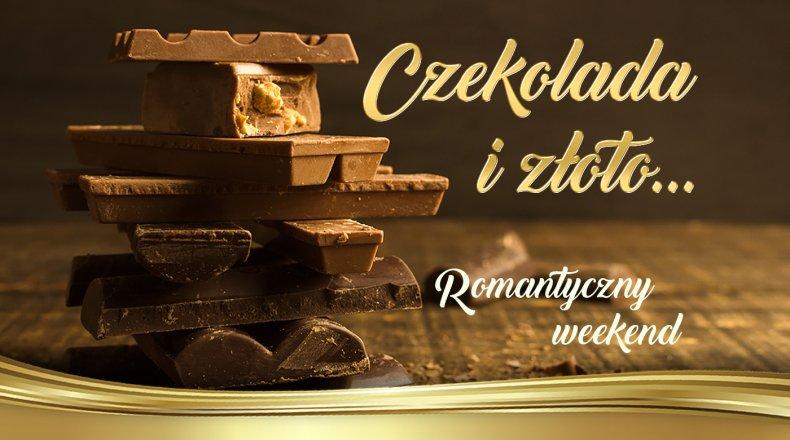 Czekoladowo - złoty romantyczny weekend